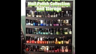 Nail Polish Collection Purge -Before and After Thumbnail
