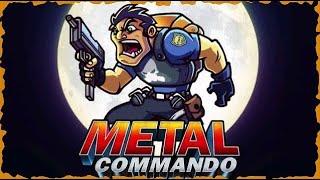 ESTILO METAL SLUG | Metal Commando (Gameplay em Português PT-BR) #metalcommando