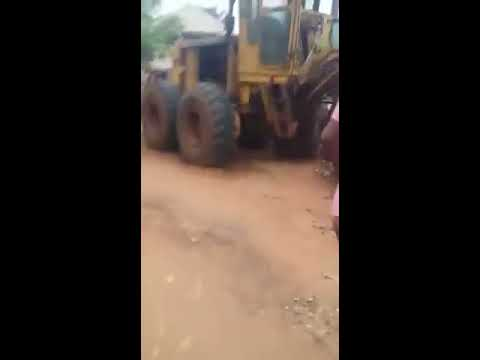 Haa!  Customer Sets Bank On Fire In Abia State! (Shocking Video)