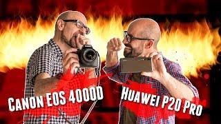 Huawei P20 Pro Vs. Canon 4000D (T100): el móvil más potente contra la réflex más barata