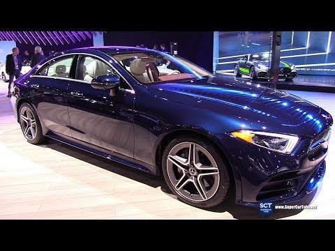2019 Mercedes Benz CLS Class CLS 450 4Matic - Exterior and Interior Walkaround - 2018 LA Auto Show