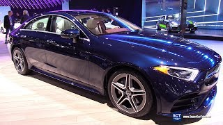 2019 Mercedes Benz CLS Class CLS 450 4Matic - Exterior and Interior Walkaround - 2018 LA Auto Show