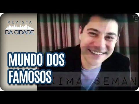Evaristo Costa, Duda Nagle E Sabrina Sato - Revista Da Cidade (11/08/2017)