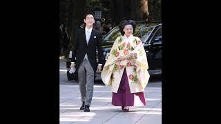 Японская принцесса сыграла свадьбу с простолюдино