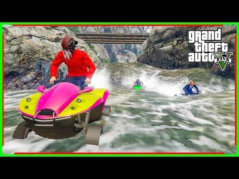Blazer Aqua-แต่งรถซิ่งริมทะเล บนบกก็ได้ บนน้ำก็ดี#GTA V(Funny Moment)