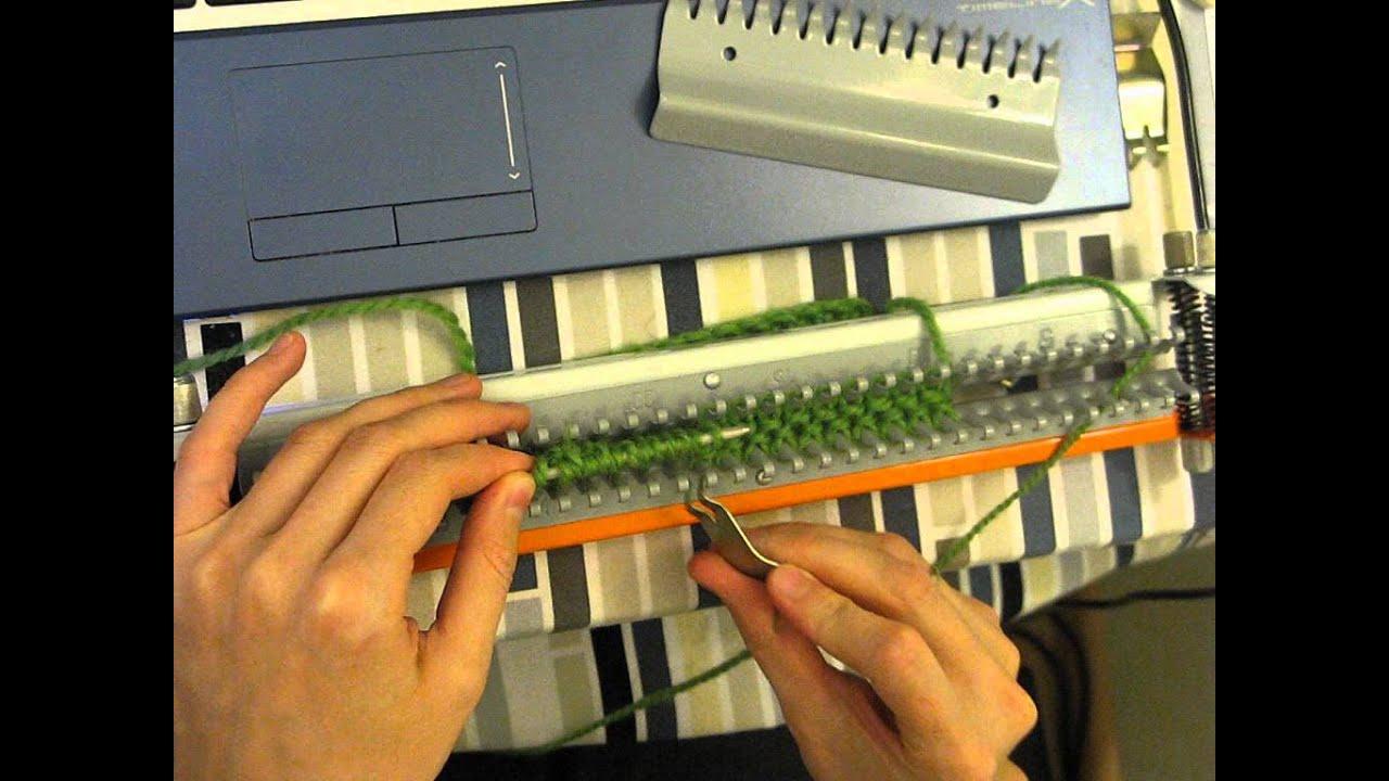 Ручная вязальная машина ивушка инструкция