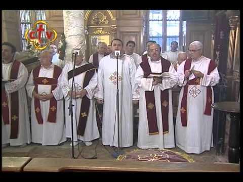 """القداس الإلهي .. عيد الصليب """" القديسة العذراء مريم الفجالة - القاهرة """""""