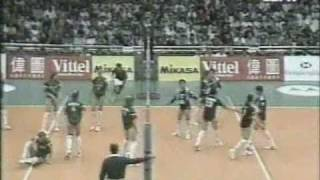 CHINA VS RUSSIA GRAND PRIX  1997 VOLLEYBALL