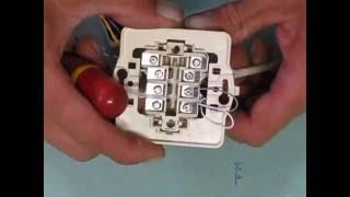 branchement d'une prise telephone
