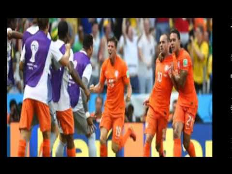 Netherlands vs Costa Rica match report World Cup 2014