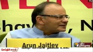 The state of world economy worrisome says finance minister Arun Jaitley
