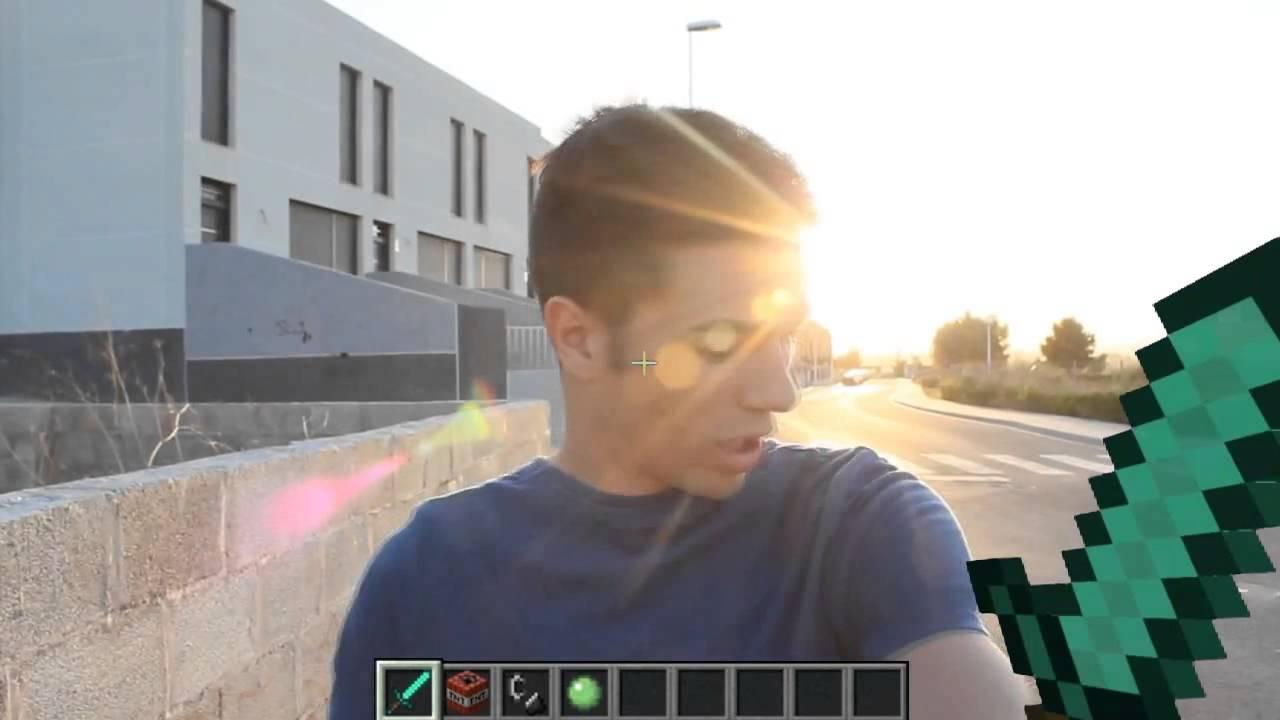 Minecraft en la vida real con hablarcuadrado youtube for Videos de minecraft en la vida real