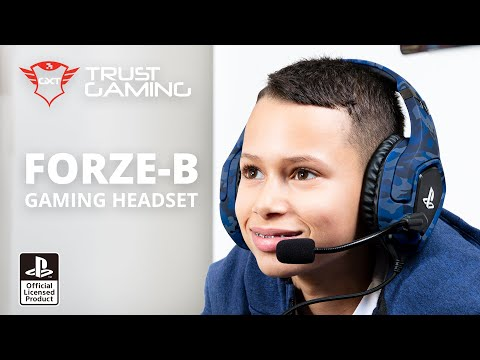 GXT 488 Forze-B PS4 Gaming Headset PlayStation® official licensed product - blue