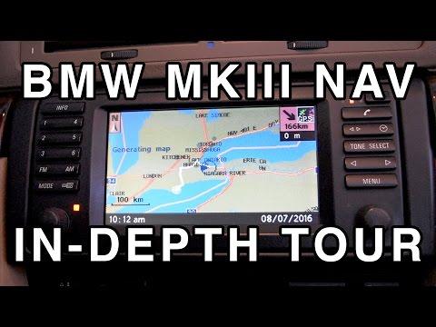 BMW MKIII Navigation Computer Demo
