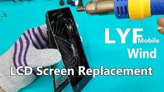 LYF Wind 6( LS-5009) LCD Display + Touch Screen Replacement-LYF ls-5009
