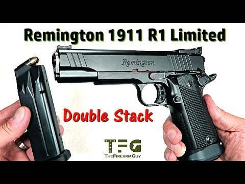 Remington 1911 R1 Limited (Double Stack 15 rd Mag) - TheFireArmGuy