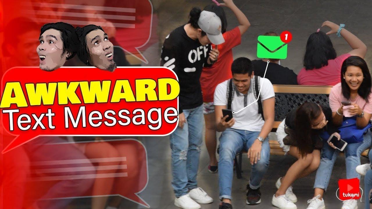 Awkward Text Message Prank