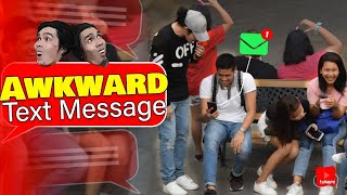 Awkward Text Message Prank
