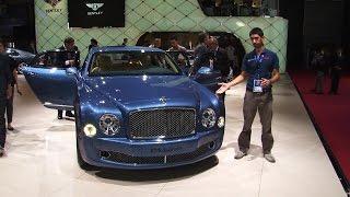 Il lusso Bentley al Salone di Parigi 2014