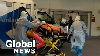 Coronavirus: Toronto ICU patients being flown to other hospitals as facilities overloaded