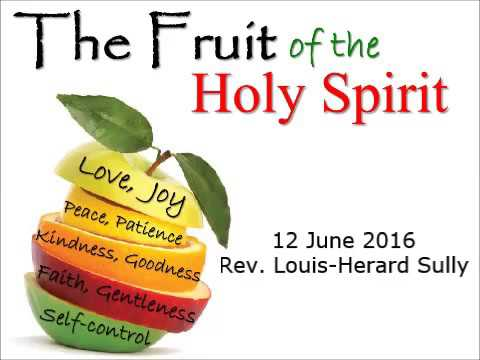 the fruits of the holy spirit