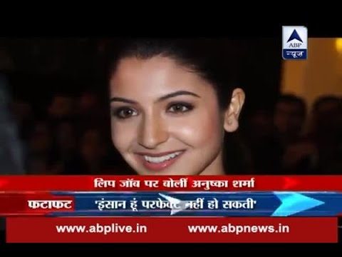 Anushka Sharma once again talks about her lip job controversy