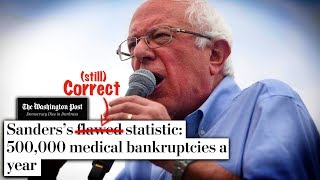 """The Washington Post Doubles Down on Nonsensical """"Fact Check"""" of Bernie Sanders"""