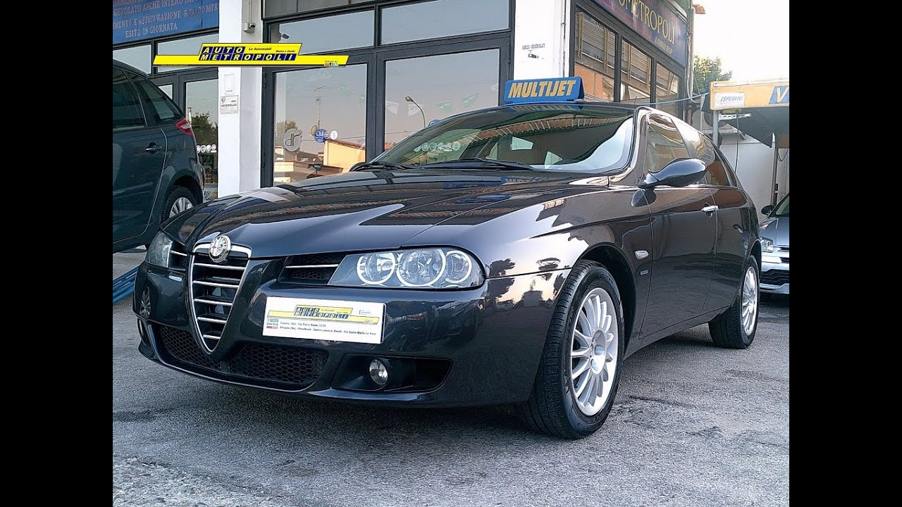 alfa romeo 156 sportwagon 1 9 16v 150cv jtdm m jet distinctive youtube. Black Bedroom Furniture Sets. Home Design Ideas