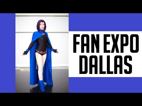 THIS IS FAN EXPO DALLAS COMIC CON 2017 COSPLAY MUSIC VIDEO DJI OSMO CANON G7X VLOG