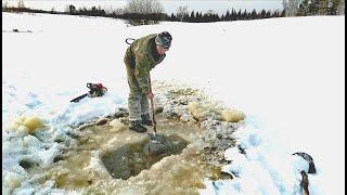 В поисках замора рыбы Эксперименты на озере