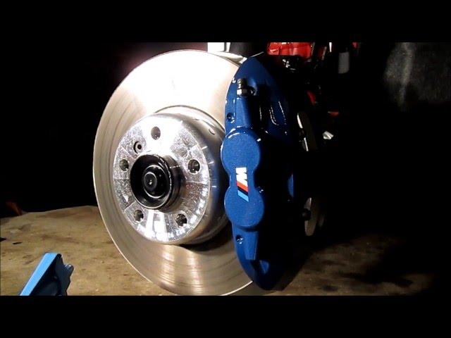 BMW Brake Caliper Opticoat Opti-Gloss