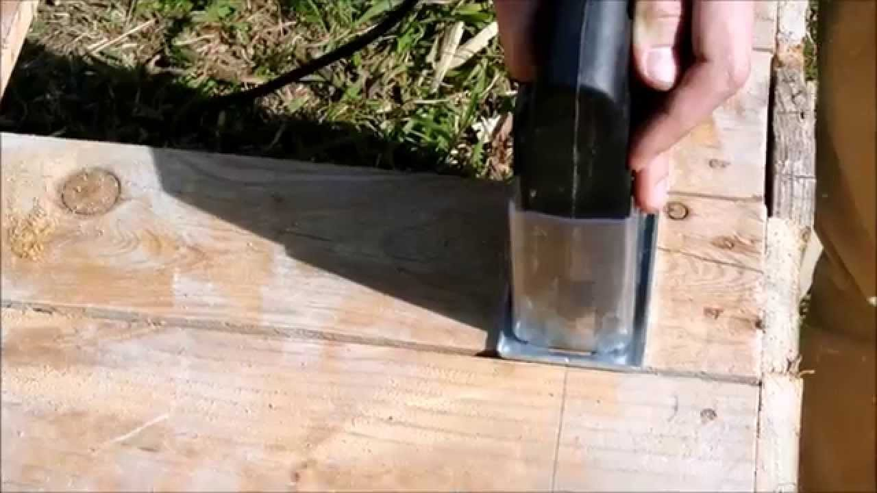 Instructions to build a doghouse with pallets step by step for Costruire cuccia per cani