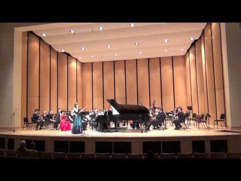Chloe Trevor Mendelssohn Double Concerto (Part 2)