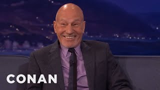 "Sir Patrick Stewart: Seth McFarlane Geeked Out Meeting The ""Next Generation"" Cast  - CONAN on TBS"