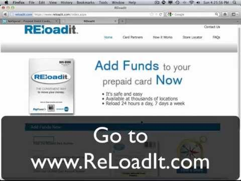 NetSpend and ReLoadIt