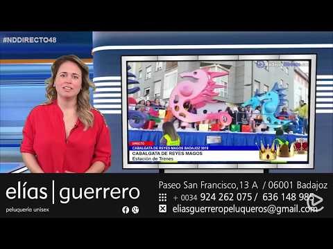 Los Reyes Magos llegarán a las 5 de la tarde a la estación de Badajoz