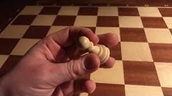 Bauer Schach Figur Die Bauer Schachfigur Bewegung Schach spielen lernen Schach Regeln Anleitung