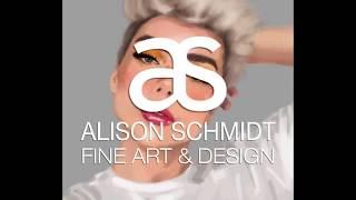 Thomas Halbert Portrait Painting Process - Alison Schmidt Art