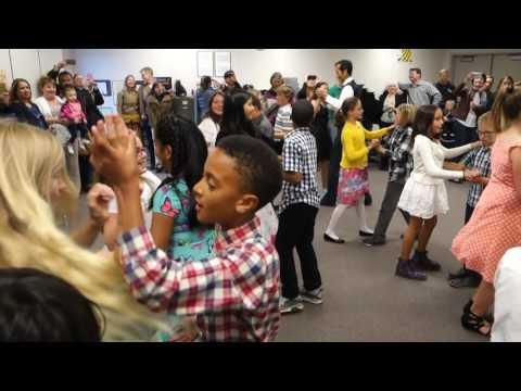 Ballroom Dancing, May 2016, Sinsheimer Elementary School, 5th Grade