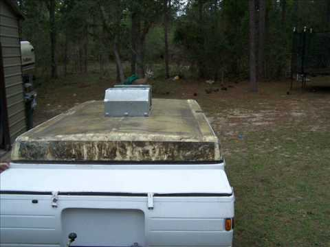 Coleman Pop Up Roof Repair Youtube