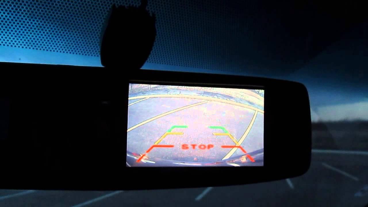 Камера заднего вида Opel Vivaro, Renault Trafic, Nissan Primastar