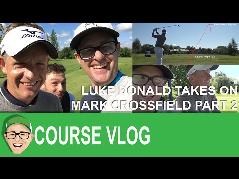 Luke Donald Takes On Mark Crossfield Part 2