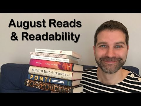 Reading Wrap Up / August 2018
