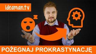 Pozegnaj Prokrastynacje - PREMIERA KURSU [webinar audiobook niespodzianki]