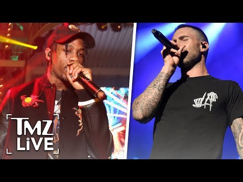 Travis Scott Joining Maroon 5 For Super Bowl Haltime Show | TMZ Live Mp3