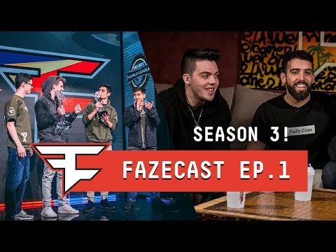 OUR MLG CHAMPIONS JOIN THE SHOW! - #FaZeCast S3E1 w/ Adapt, Apex & Temperrr