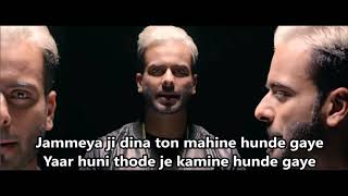 munda badnam ho gaya lyrics | full song | pehli gaal chacha ji ne kadni shivaya song | HypeX Gaming