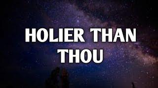 Biffy Clyro - Holier Than Thou (Lyrics)