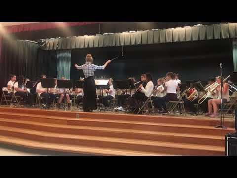 "Doolen Middle School - Intermediate Band plays ""Surfin' USA"""
