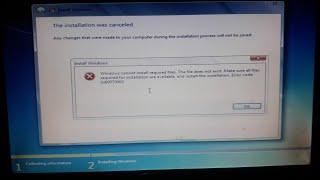 how to fix error code 0x80070003